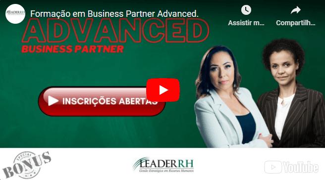 FORMAÇÃO ONLINE EM BUSINESS PARTNER ADVANCED