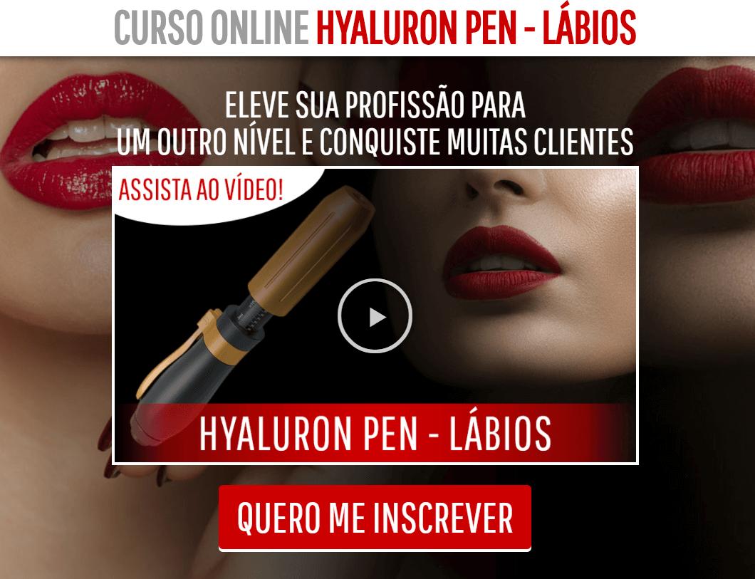 Hyaluron Pen Lábios e Micropigmentação Lábios